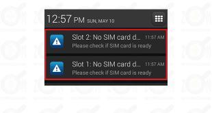 no sim card detected