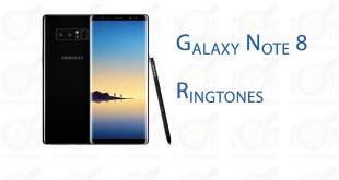 galaxy note 8 ringtones