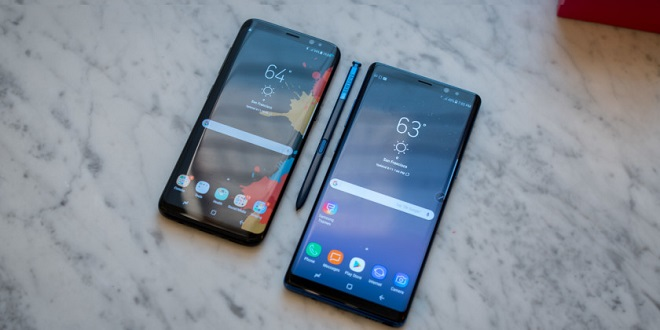مقایسه Galaxy S8 Plus و Galaxy Note 8