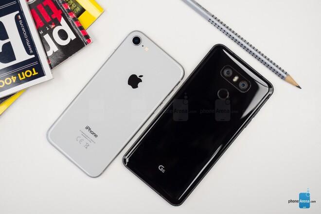 دوربین گوشی های آیفون 8 و LG G6