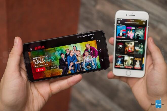 مقایسه گوشی های آیفون 8 و LG G6