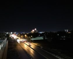 نمونه عکس دوربین میت 10 در شب