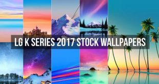 LG K Series 2017 Stock Wallpapers