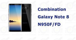 combination galaxy note 8 n950f/fd