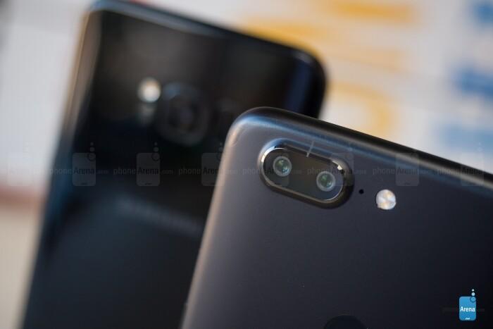دوربین گوشی های OnePlus 5T و Galaxy S8