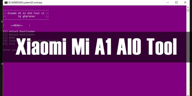 Xiaomi Mi A1 AIO Tool