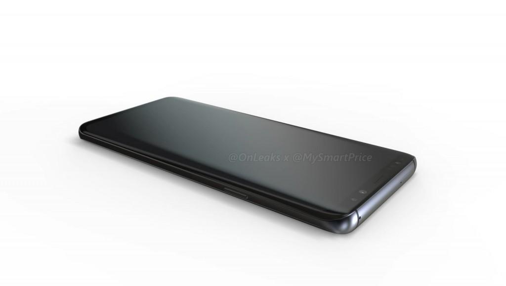 رندرهای گوشی Galaxy S9