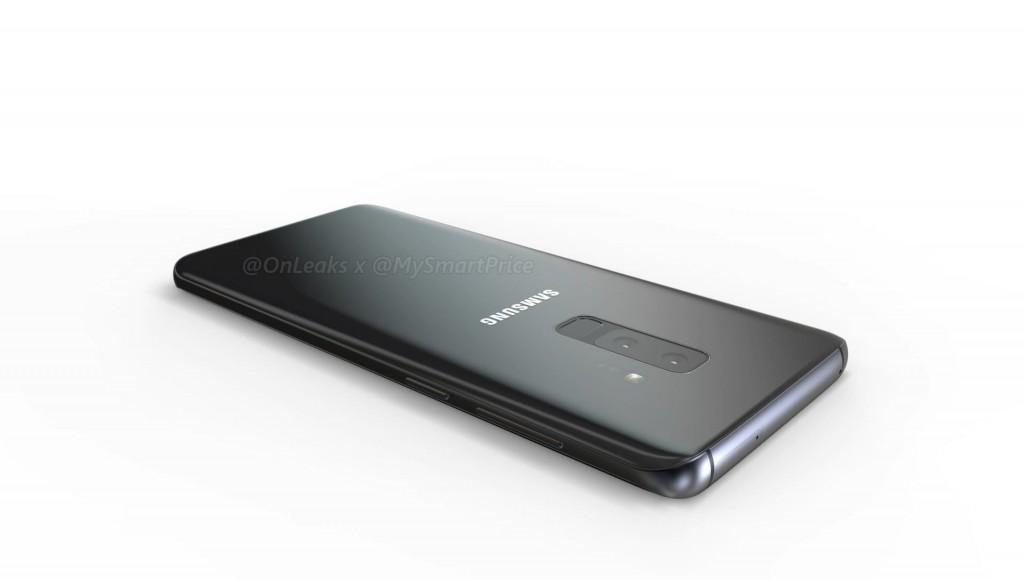 رندرهای گوشی Galaxy S9 پلاس