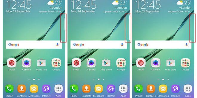 edge screen feature
