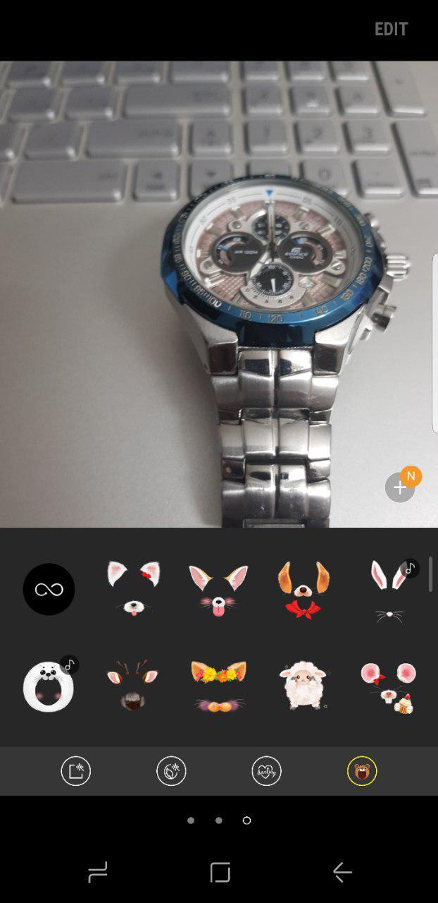 رابط کاربری Samsung Experience