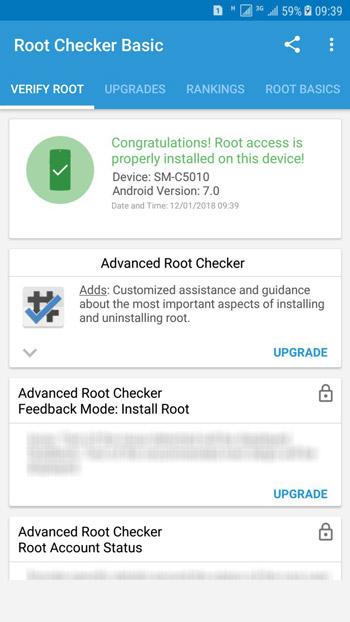 C5010 Root check