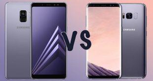 مقایسه گوشی های Galaxy S8 و Galaxy A8 2018