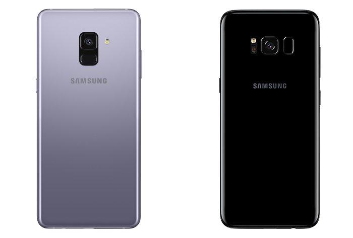 Galaxy S8 و Galaxy A8 2018
