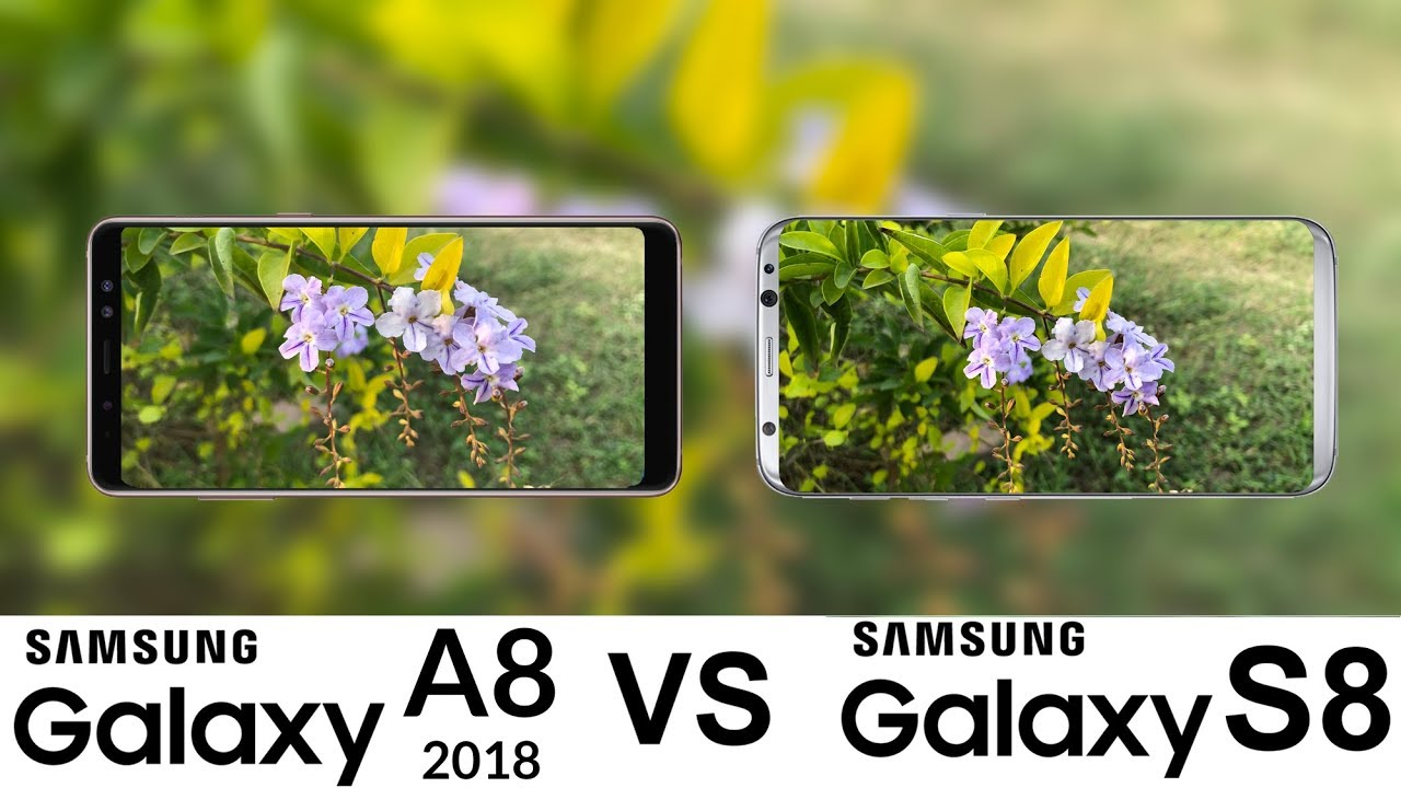 مقایسه عملکرد دوربین Galaxy S8 و Galaxy A8 2018