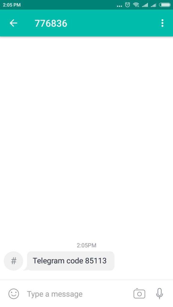 تست شماره مجازی در ساخت اکانت تلگرام