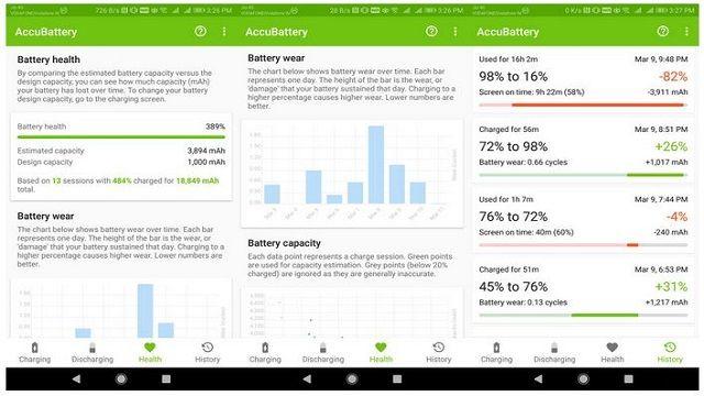 معرفی و دانلود Accubattery ؛ اپلیکیشن نظارت بر سلامت باتری