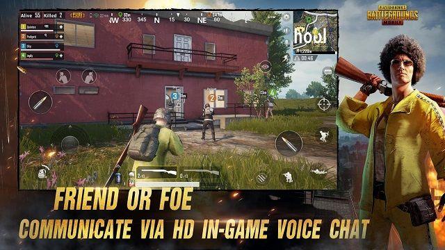 معرفی و دانلود بازی اکشن و آنلاین  PUBG Mobile + دیتا
