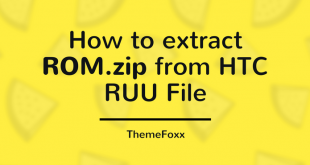 Extract rom zip RUU
