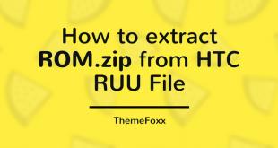 Extract rom zip RUU