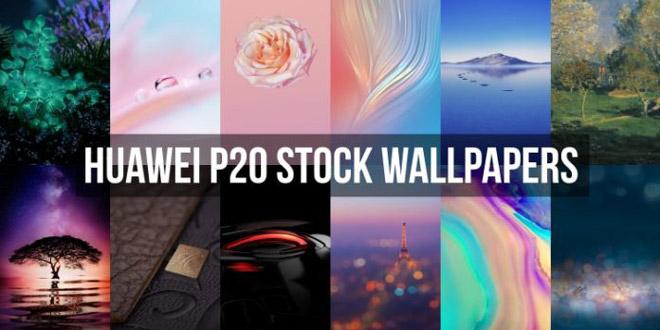 huawei P20 stock wallpaper