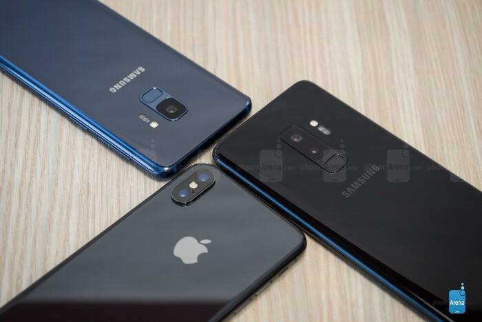 مقایسه دوربین iPhone X و Samsung Galaxy S9 Plus