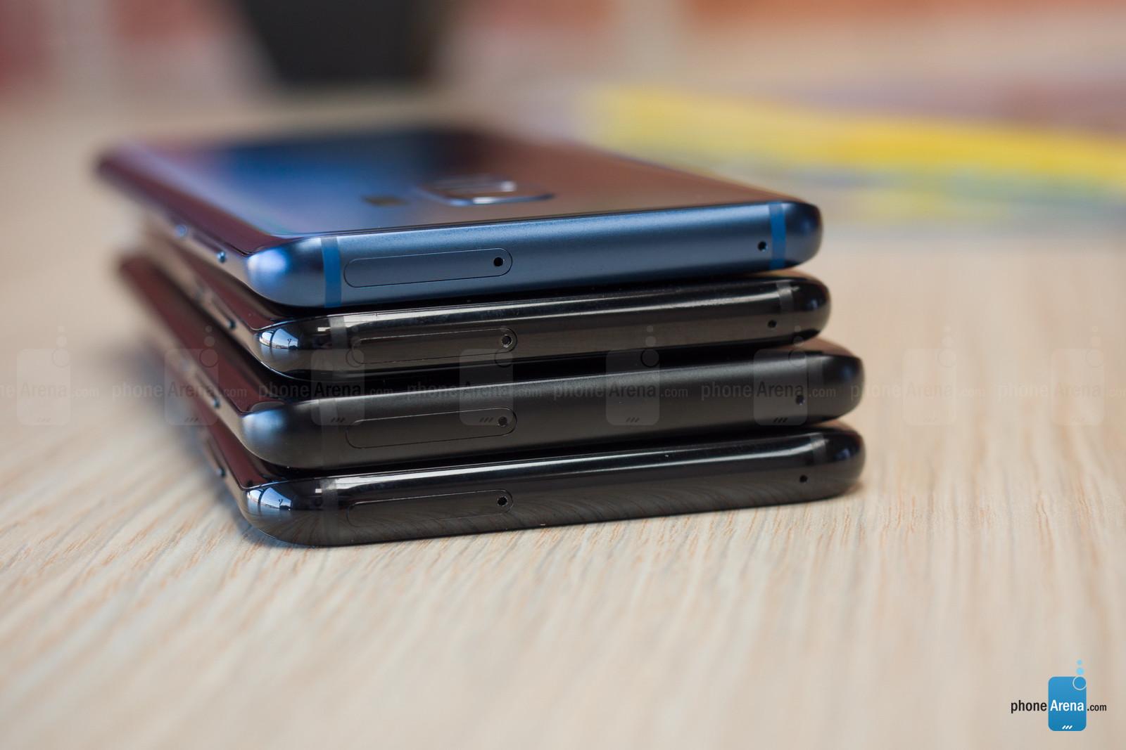 مقایسه طراحی، ساخت و نمایشگر گوشی هایگلکسی اس 8 پلاس و گلکسی اس 9 پلاس