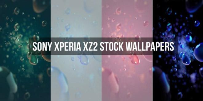 والپیپر های اورجینال اکسپریا XZ2