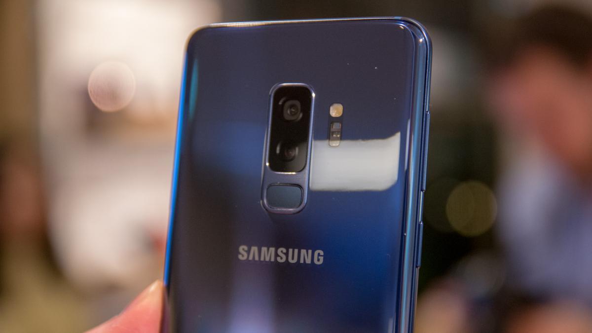 دوربین های Galaxy S9 Plus