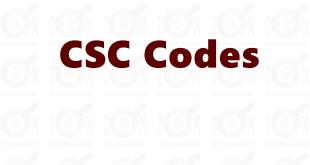 CSC-Codes