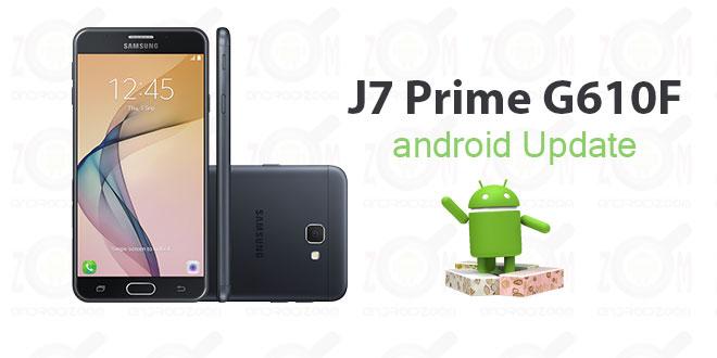 آپدیت اندروید J7 Prime