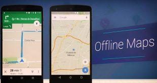 google offline maps