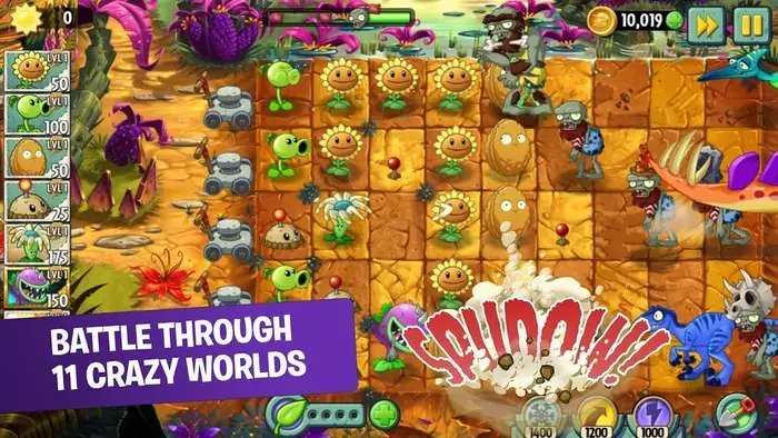 دانلود Plants vs. Zombies 2 مود و دیتا اندروید