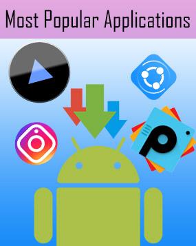 محبوب ترین اپلیکیشن های اندرویدی