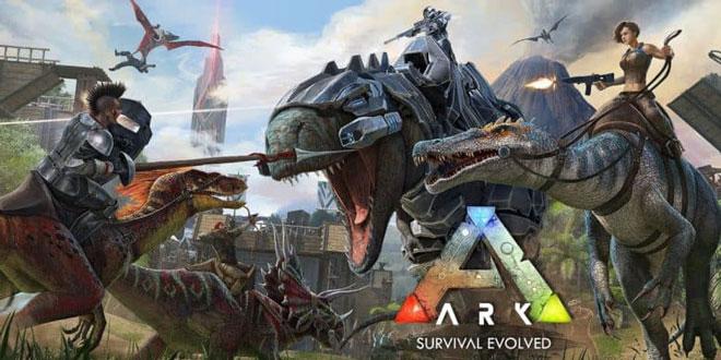 دانلود بازی اکشن و جذاب ARK: Survival Evolved v1.0.68- جنگ برای بقا