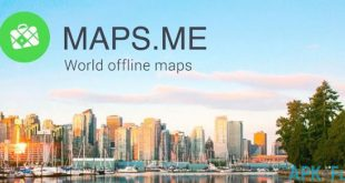 دانلود نرم افزار مسیریابی MAPS.ME v8.2.8