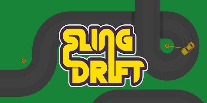 دانلود بازی رانندگی و مسابقه ای Sling Drift v1.8