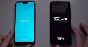 مقایسه honor10 با galaxy s9