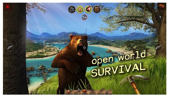 بازی Radiation Island مشابه پابجی اندروید