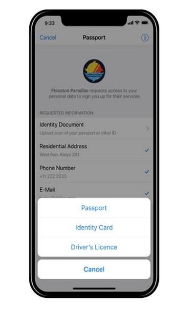 پاسپورت تلگرام
