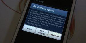 samsung software update