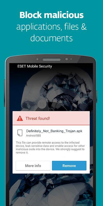امنیت گوشی با ESET