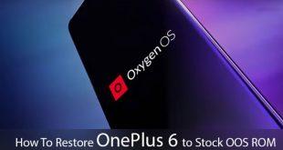 OnePlus restore stock rom