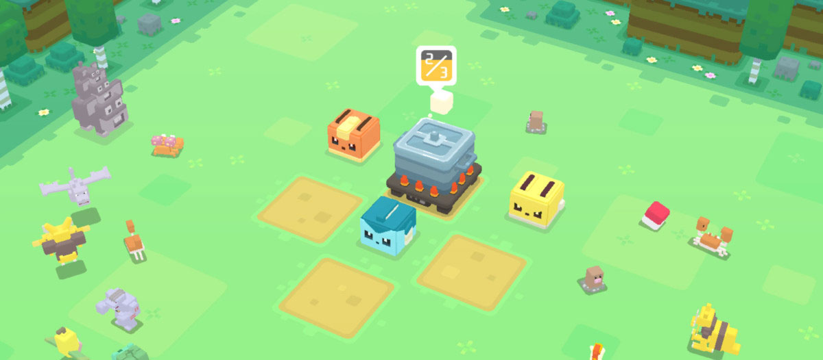 بازی Pokemon Quest