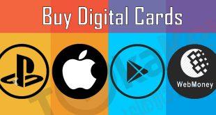 فروشگاه خرید کارت های دیجیتال