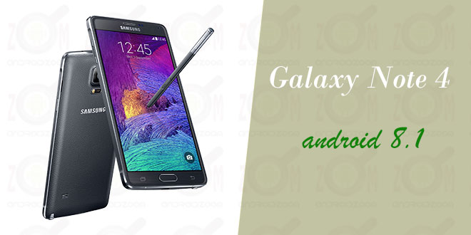 galaxy-note4-android8.1