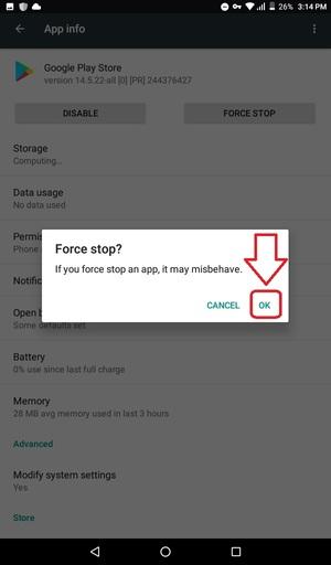 تایید توقف اجباری برنامه گوگل پلی استور