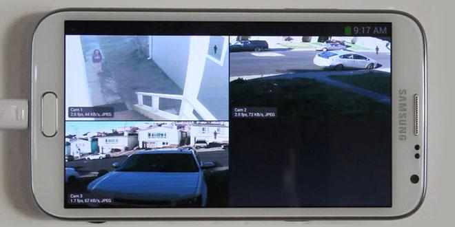 آموزش نحوه تبدیل گوشی های هوشمند اندرویدی به دوربین امنیتی ، مدار بسته و وبکم