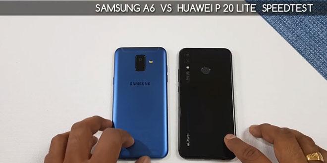 مقایسه گوشی Nova 3e و Galaxy A6