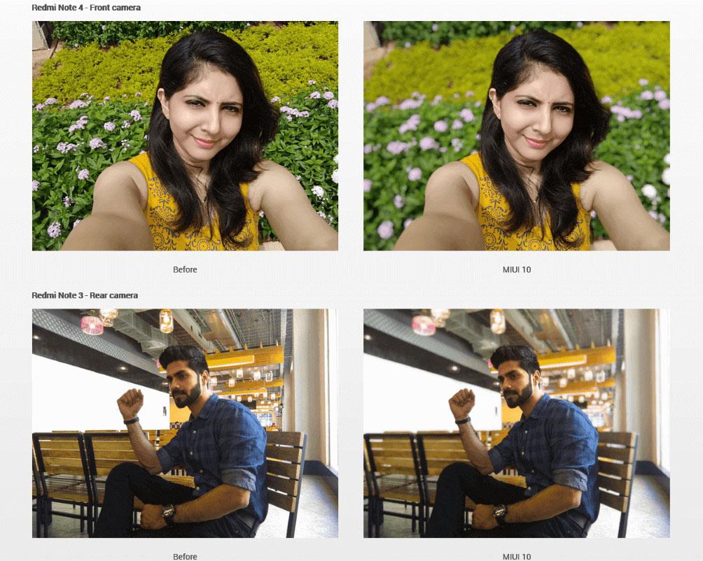 عکس قبل و بعد در حالت پرتره