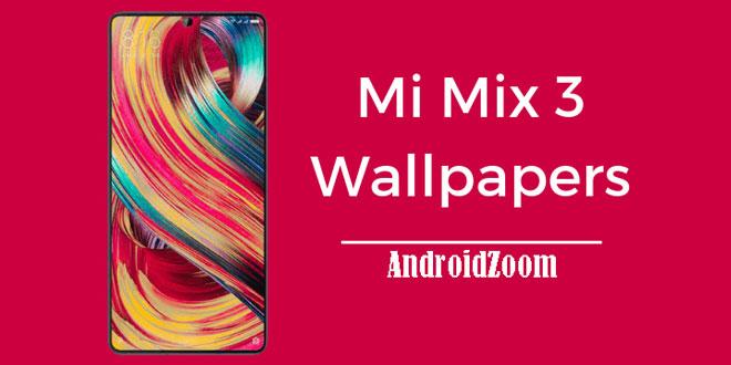 Mi Mix 3 Stock Wallpapers